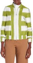 Ter Et Bantine Stripe Woven Flight Jacket