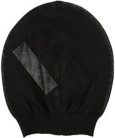 Rick Owens sheer beanie hat - women - Cotton/Polyamide - One Size