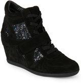 Ash Black & Midnight Bowie Wedge Sneakers