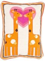 Jonathan Adler Giraffe Needlepoint Pillow