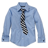Brooks Brothers Boys' Solid Dress Shirt - Little Kid, Big Kid