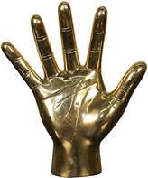 """Noir 9"""" Open-Hand Figurine Gold"""