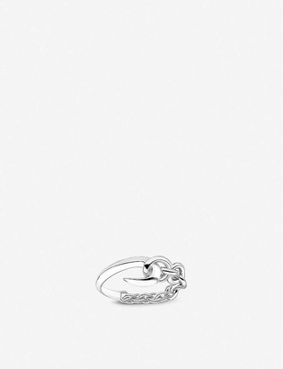 Shaun Leane Hook and chain sterling silver ring