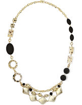 JCPenney Aris by Treska Long Swag Front Necklace