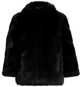 Diane von Furstenberg Noelle fur jacket