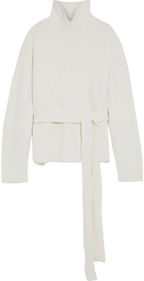 Ellery Cairs Oversized Ribbed Wool-blend Turtleneck Sweater