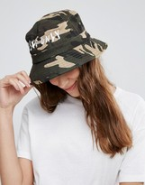 Asos Camo Bucket hat