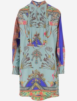 Etro Twill Silk Women's Dress