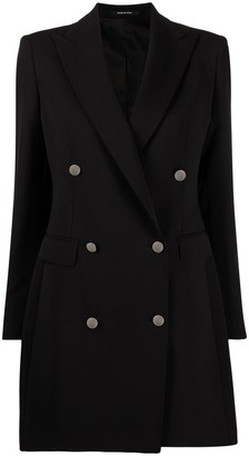 Tagliatore Winnie double-breasted mid-length coat