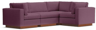 Apt2B Taylor Plush 4pc Modular L-Sectional Sofa