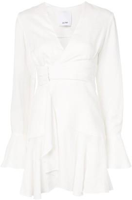 Acler Corsica wrap dress