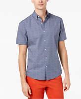 Michael Kors Men's Slim-Print Printed Shirt