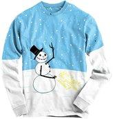 Crazy Dog T-shirts Crazy Dog Tshirtsr Snowan Peeing Funny Ugly Christas Shirt Full Print Long Sleeve