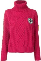 Mr & Mrs Italy Logo Roll-Neck Sweater