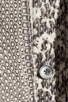 Jason Wu Snake-print silk pussy-bow blouse