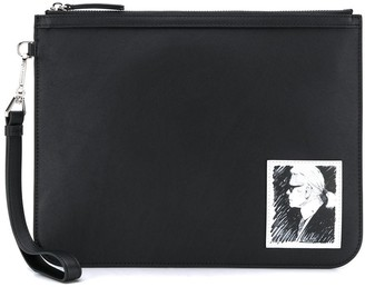 Karl Lagerfeld Paris Legend clutch