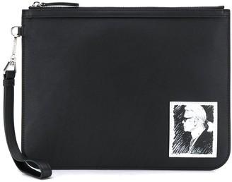 Karl Lagerfeld Paris Legend clutch