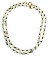 Ashley Pittman Quartzite Shanga Bead Necklace