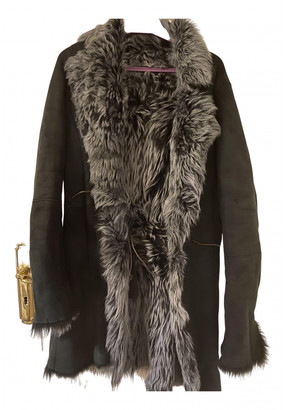 Ventcouvert Black Shearling Coats
