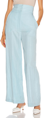 Alberta Ferretti Tailored Pant in Light Blue | FWRD