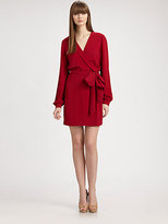 Diane von Furstenberg Milicent Silk Wrap Dress