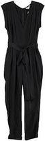 Willowed Silk Jumpsuit