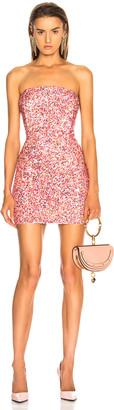 retrofete for FWRD Heather Dress in Peach Multi | FWRD