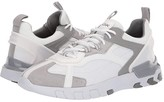 Geox Grecale (White/Light Grey) Men's Shoes