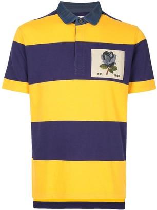 Kent & Curwen Colour-Block Stripe Polo Shirt