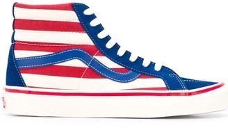 Vans ankle striped sneakers