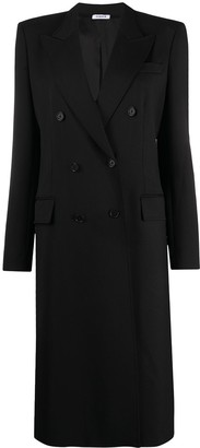 P.A.R.O.S.H. Double-Breasted Tailored Midi Coat