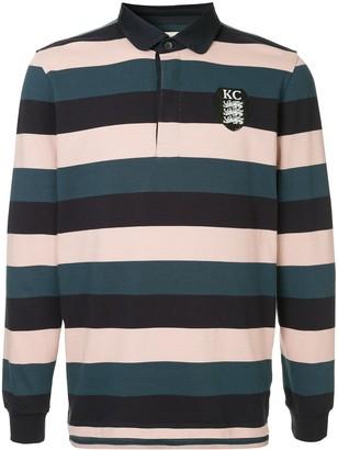 Kent & Curwen Long-Sleeved Logo Polo Shirt