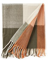 Southern Living Harvest Collection Prescott Buffalo Check Throw