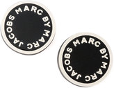 Marc by Marc Jacobs ENAMEL LOGO DISC STUD EARR
