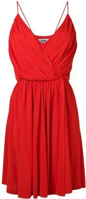 MSGM spaghetti straps dress