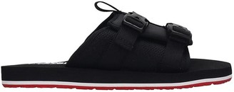 The North Face Flats In Black Synthetic Fibers