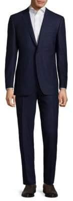 Canali Buttoned Cotton Suit