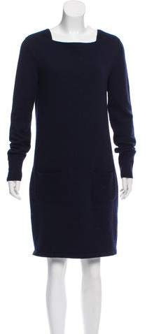 Chanel Cashmere & Wool Dress