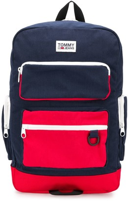 Tommy Jeans Colour-Blocked Backpack