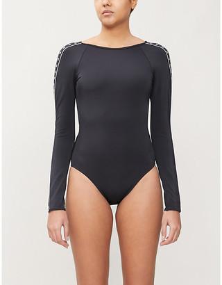 Calvin Klein Core long sleeve swimsuit