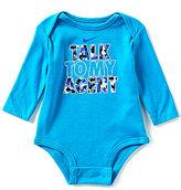 Nike Baby Boys Newborn-12 Months Talk To My Agent Long-Sleeve Bodysuit