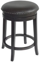 "Threshold Swivel 24"" Counter Stool Wood/Brown"