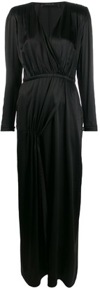 FEDERICA TOSI Wrap Style Front Dress