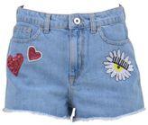Chiara Ferragni Embellished Denim Shorts