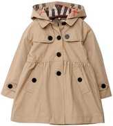 EkarLam® Children Girls Fall Spring Hooded Poncho Outwear Jacket Trenchcoat
