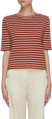 Vince Vintage stripe print T-shirt
