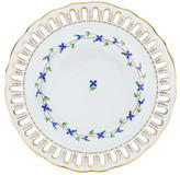 Herend Blue Garland Pierced Plate