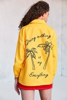 BDG Ott Street Palm Tree Coach Jacket