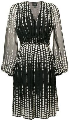 Giambattista Valli Short Dotted Dress