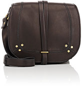 Jerome Dreyfuss Women's Victor Medium Saddle Bag-BLACK